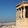 Acid sun and ancient ruins: Walking through Athens